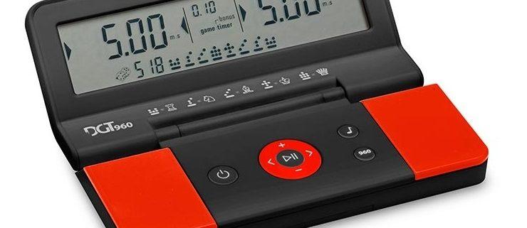DGT 960 Must/Punane digitaalne malekell