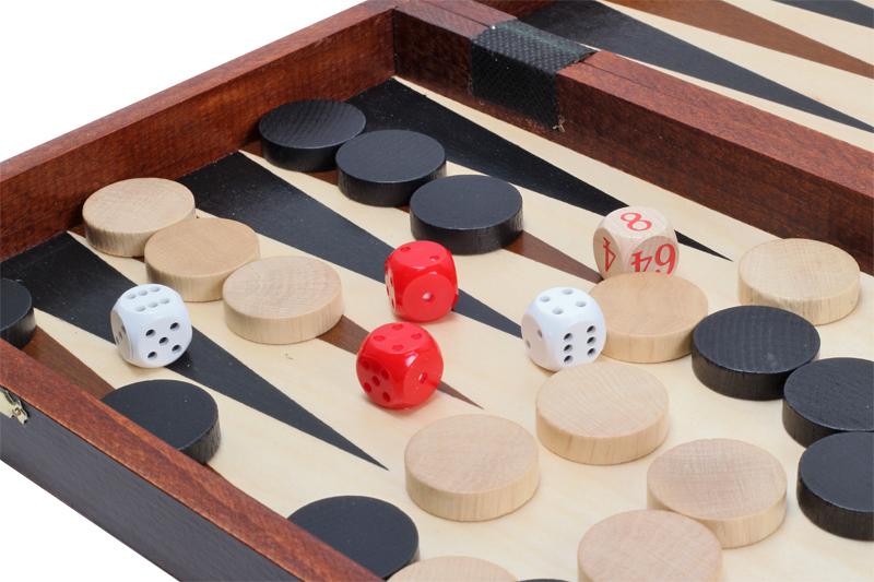 Multikomplekt Tournament No4 male + kabe + backgammon